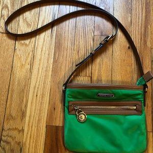 Michael Kors Green Crossbody Handbag